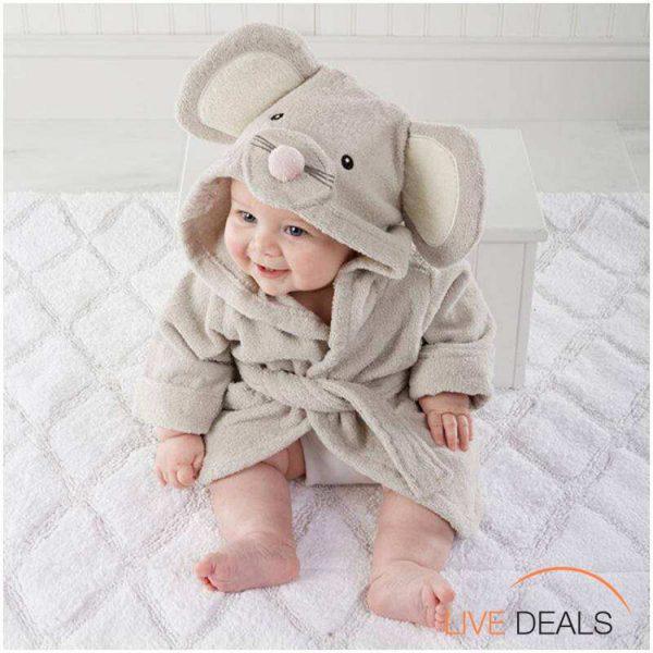 muis badjas voor kinderen en babys